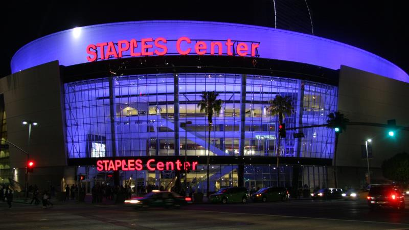 Limo Service Los Angeles Staples Center